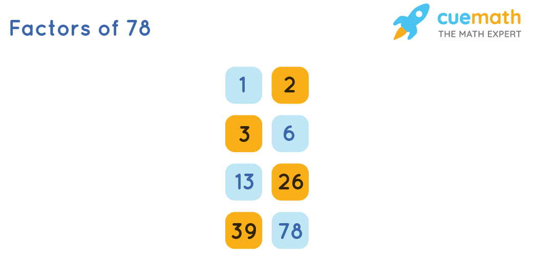 8 factors of 78