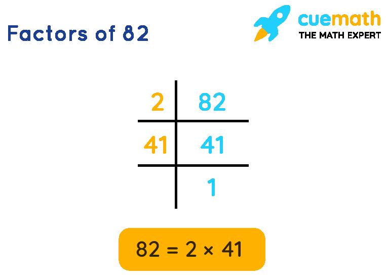 factors of 82