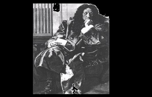 An old photograph of Gottfried Wilhelm Leibniz