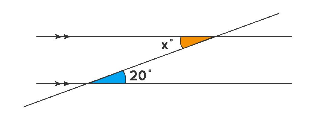 Alternate Interior Angle: Find x
