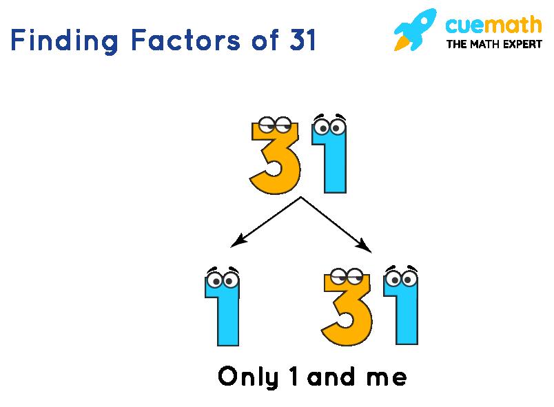 Finding Factors of 31