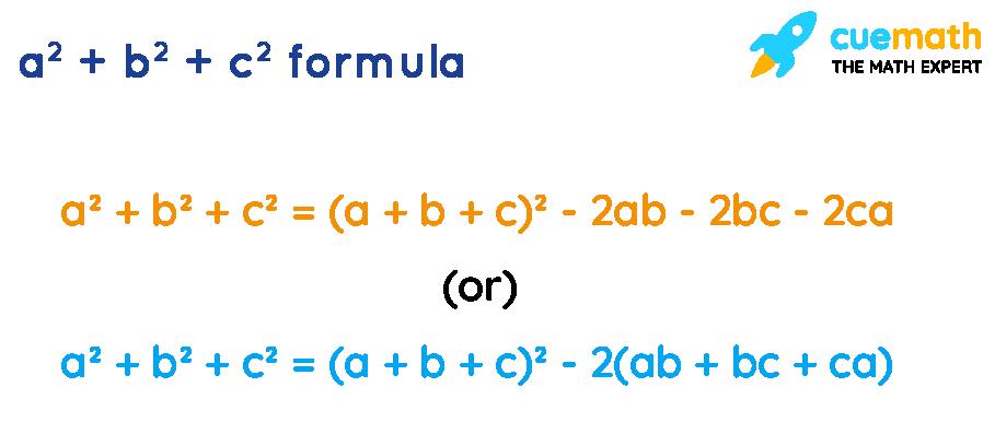 a^2+b^2+c^2 formula