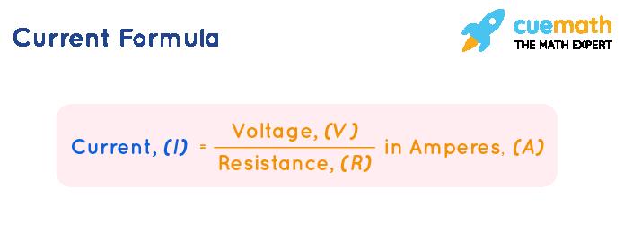 formula for current