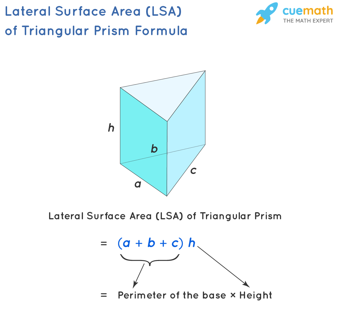 Lateral Area of Triangular Prism Formula