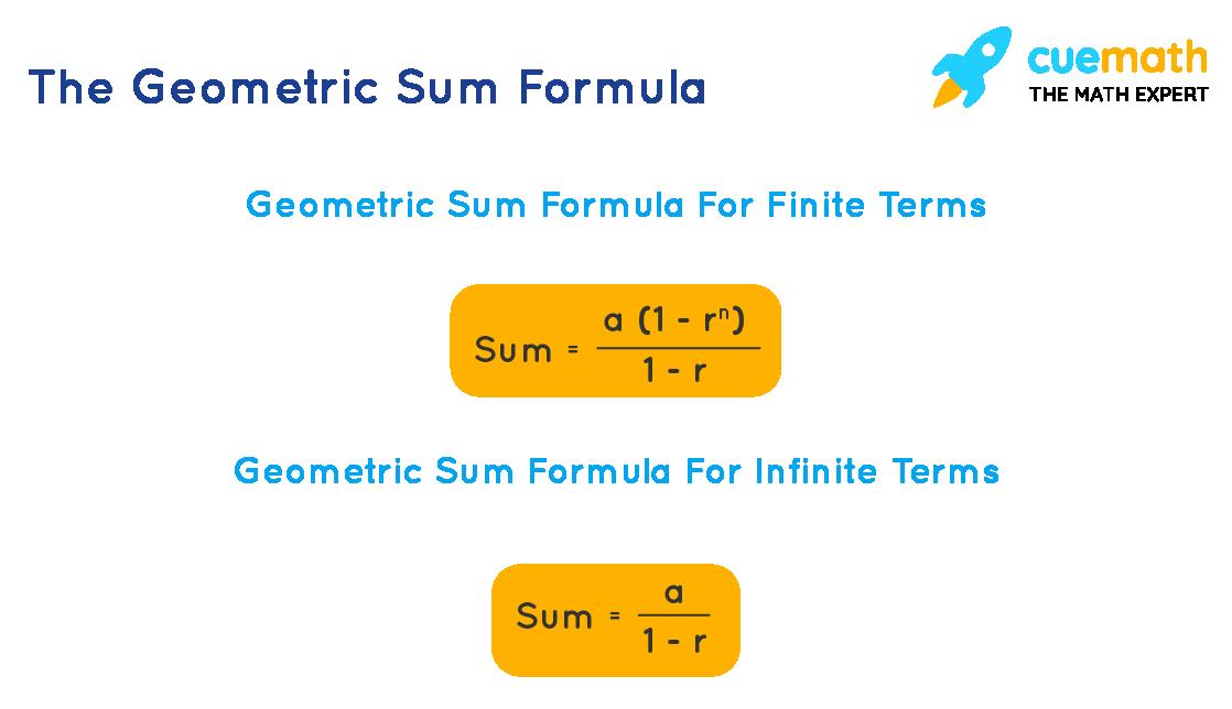 Geometric Sum formula