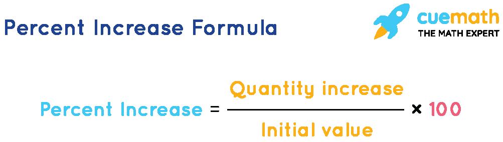 percent increase formula