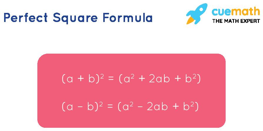 perfect square formula