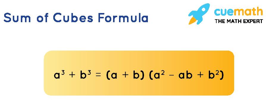Sum of cubes formulas