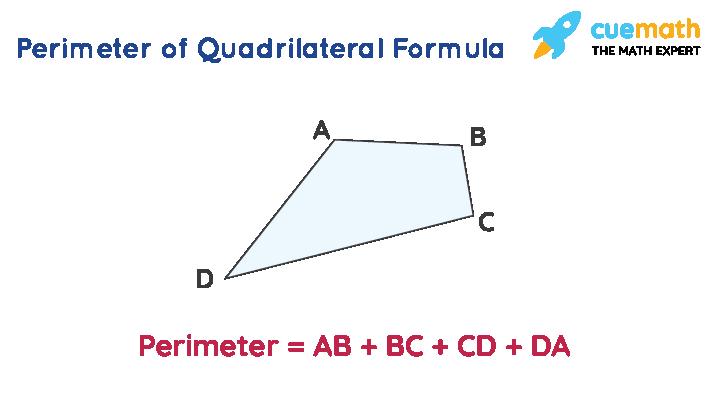 perimeter of quadrilateral formula