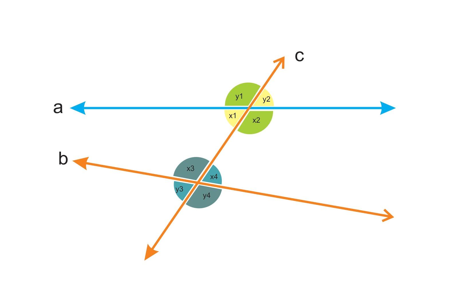 Transversal lines