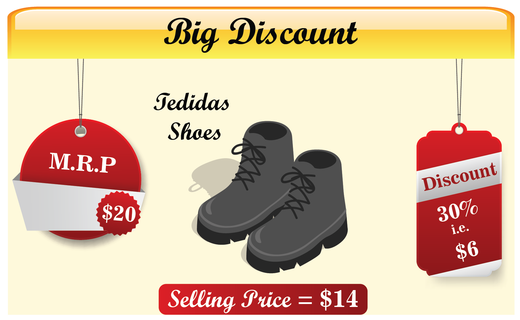 discount on shoes image