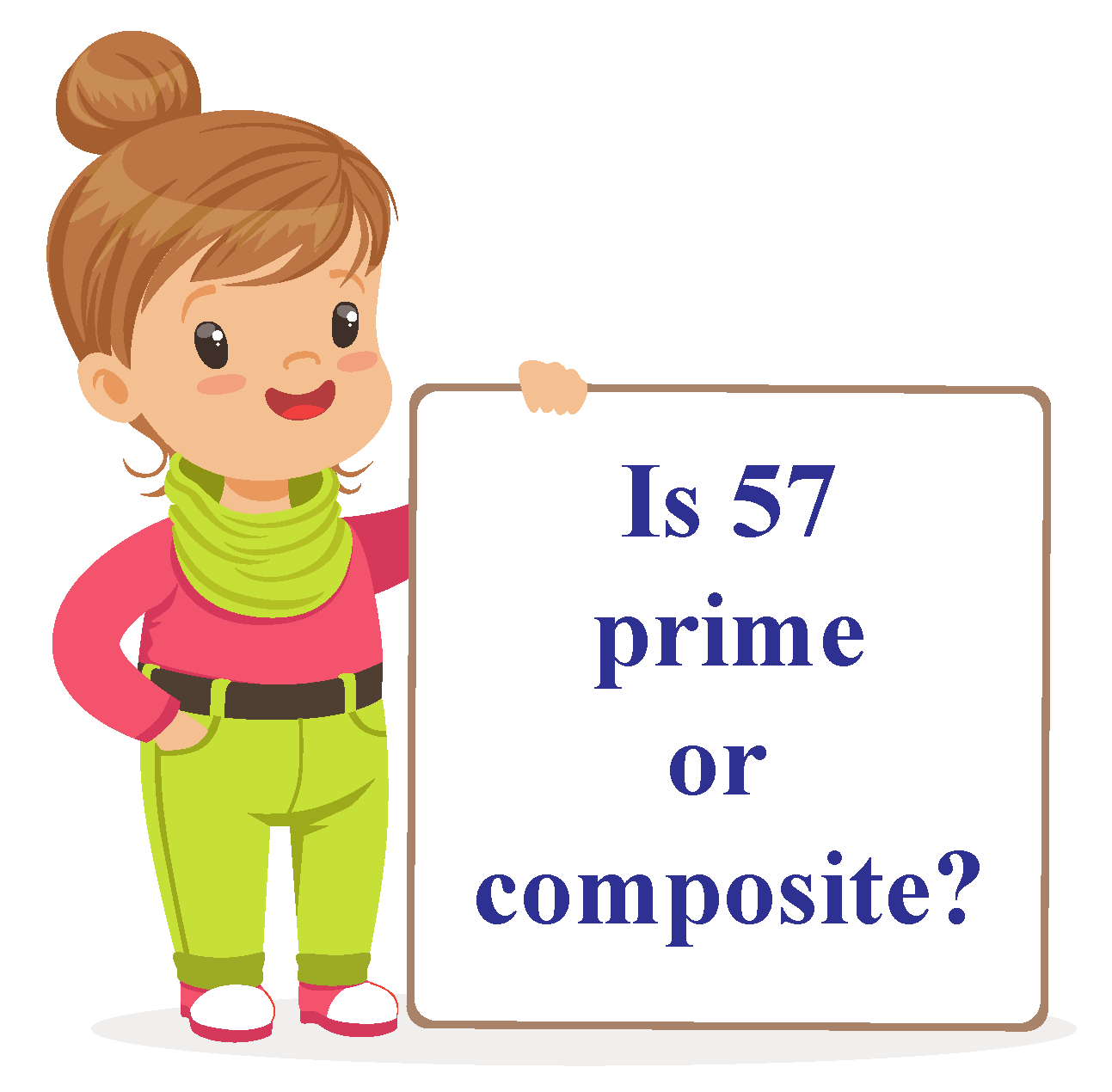 is 57 a prime number?