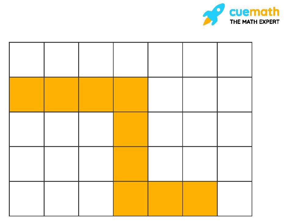 a grid with unit squares
