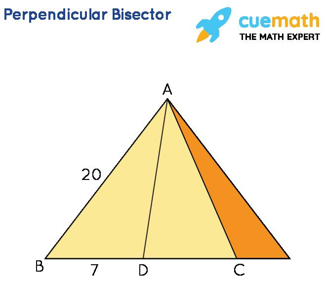perpendicular bisector theorem application