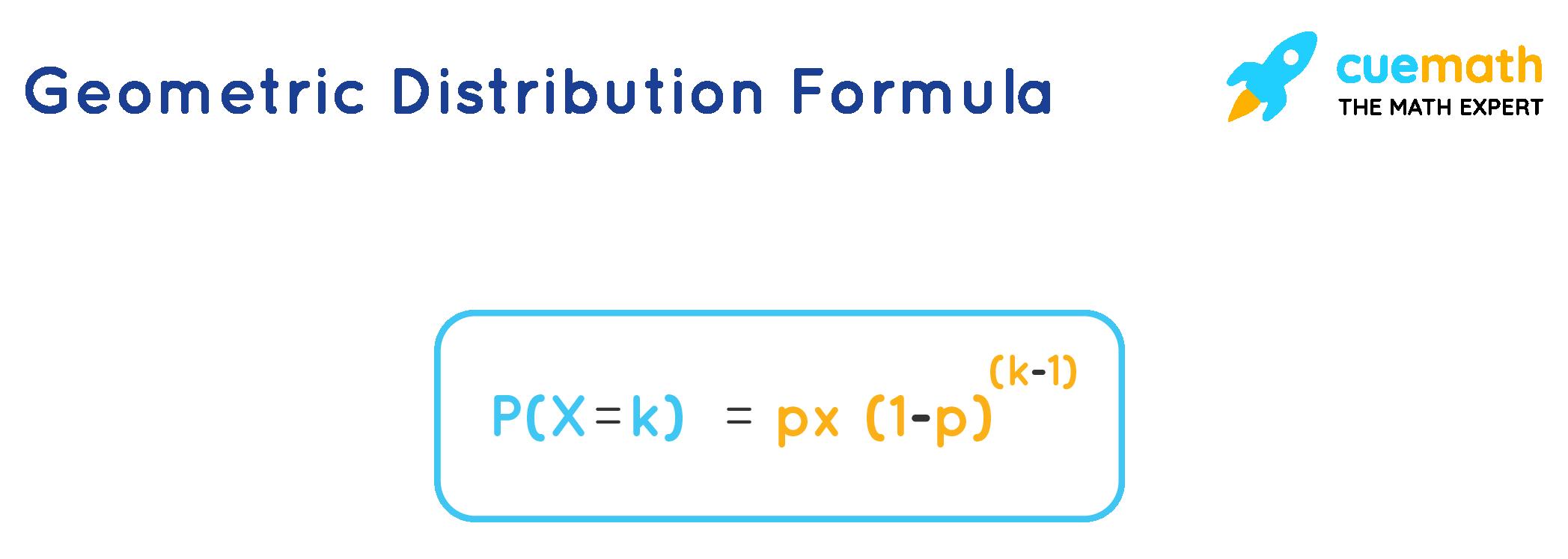 Geometric Distribution Formula