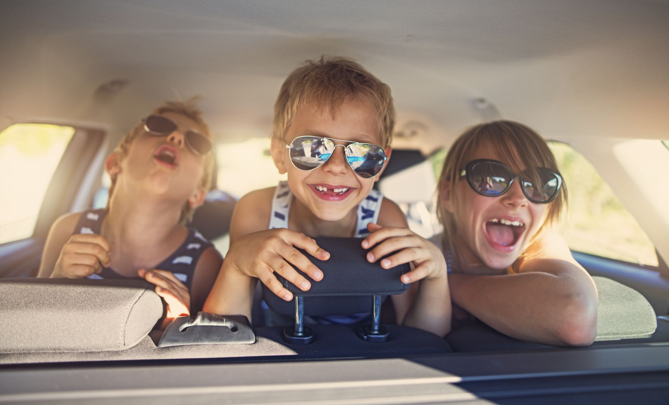 Road trips for children