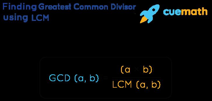 Greatest Common Divisor using LCM Method