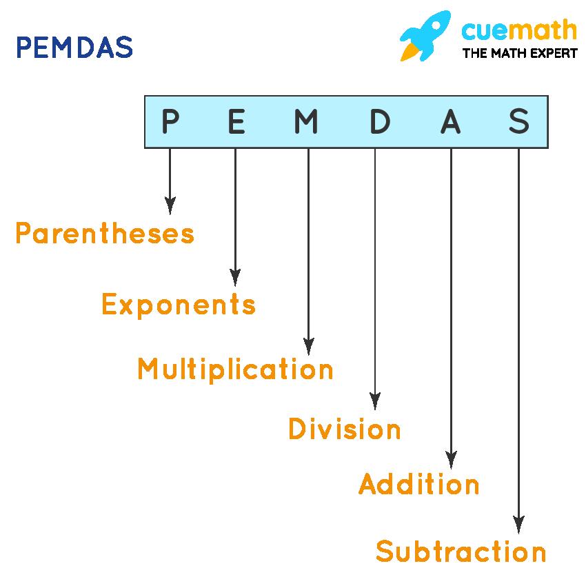 Numbers: PEMDAS