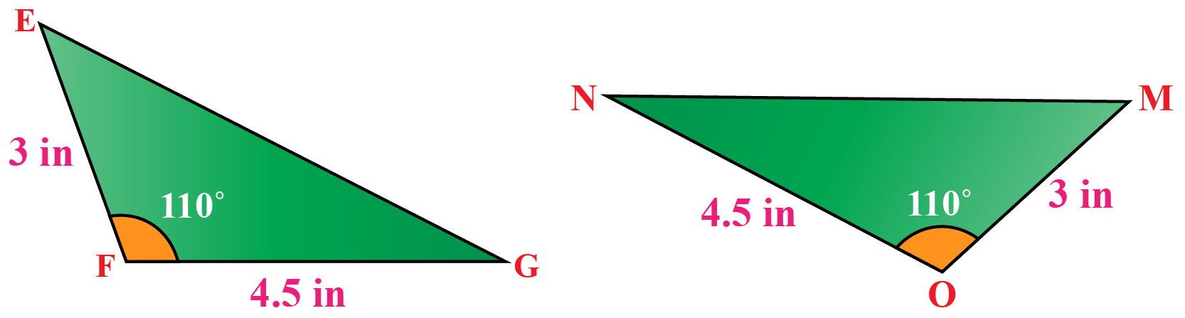 congruence triangle examples