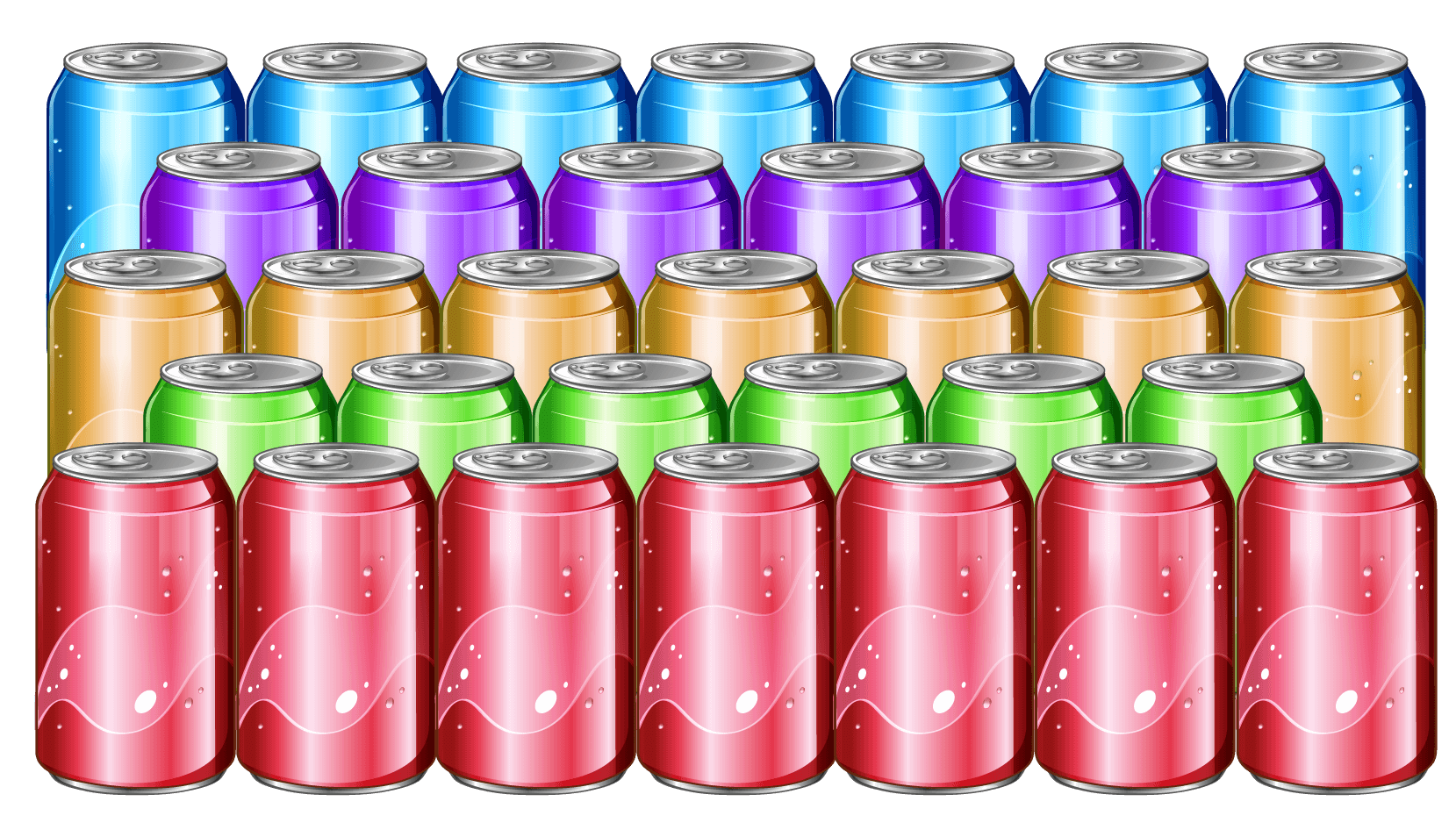 Solved Example: To find the number of cans
