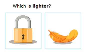 which is lighter