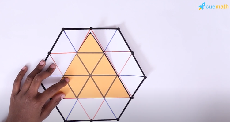 hexagon and triangle trick math riddles for kids