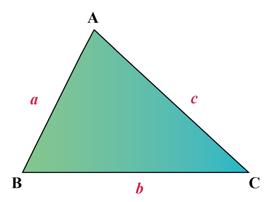 Acute-angled triangle definition - all angles of the triangle are less than 90 degrees.