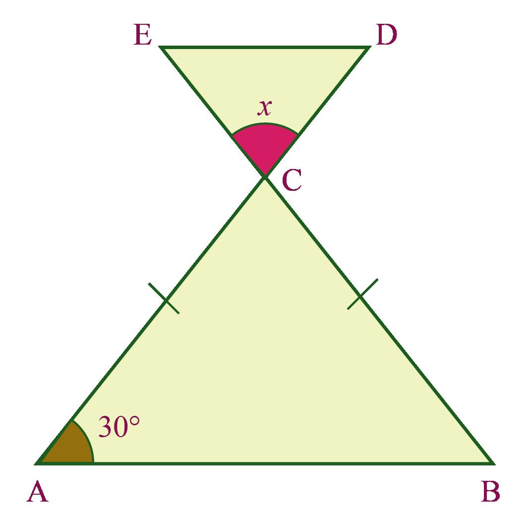 Isosceles triangle examples