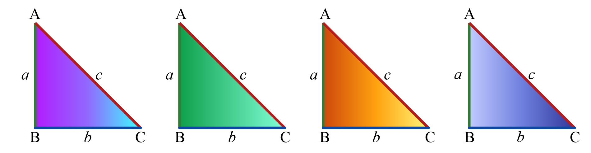 4 congruent triangles