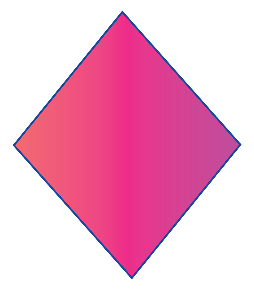 A kite is a 2D shape