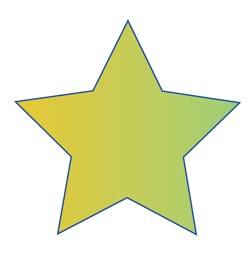 Number of sides in a star shape