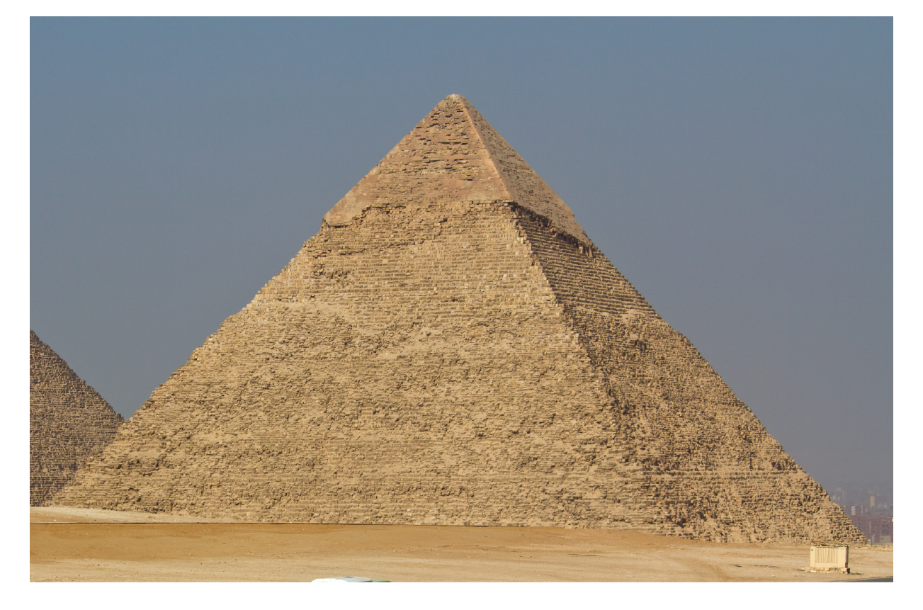 Volume of Cheops Pyramid which is a square pyramid