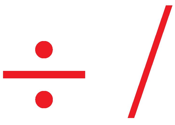 divide symbol