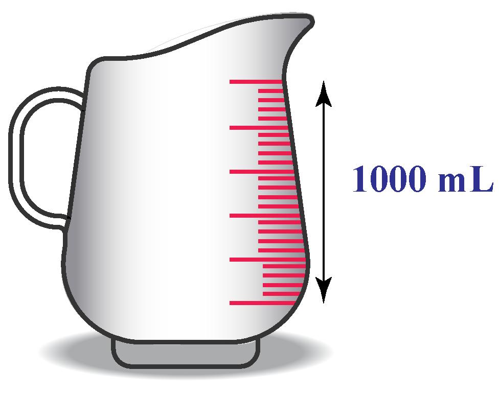 1000 ml =1l