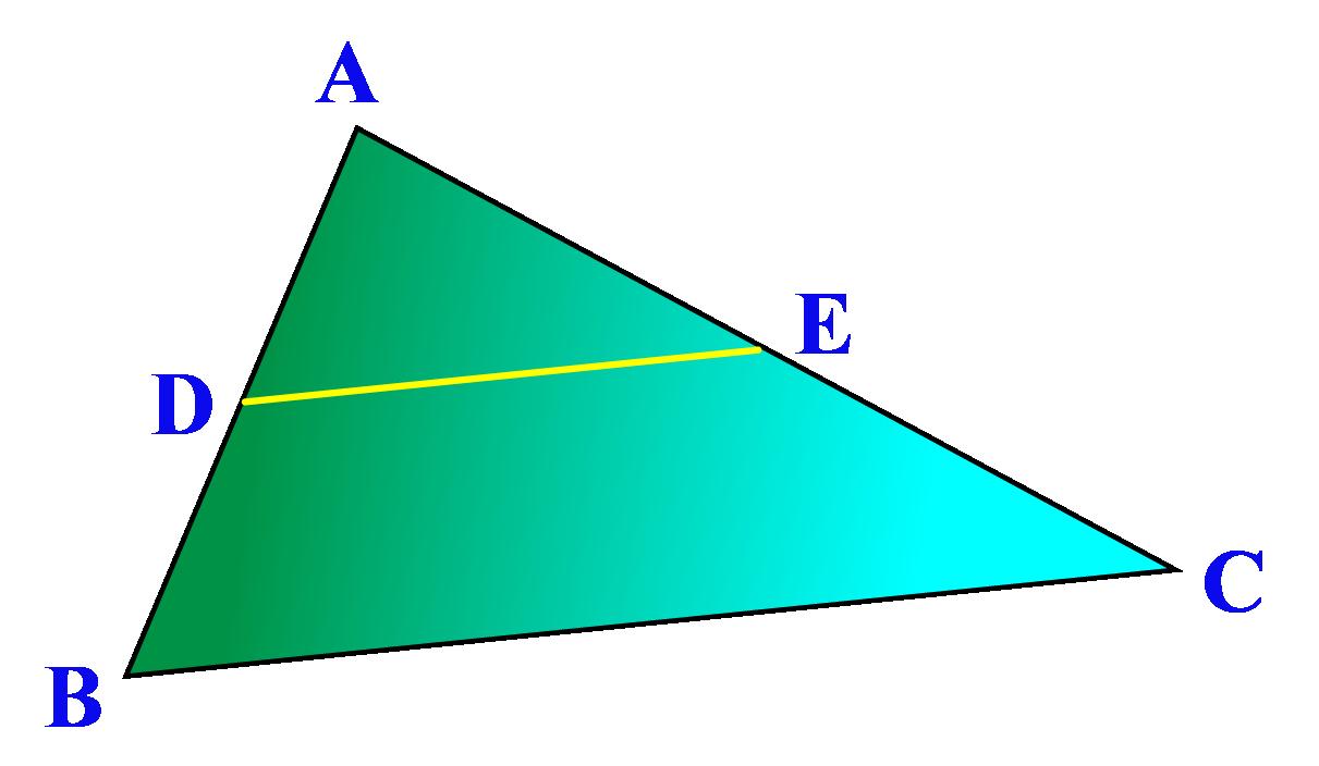 Arbitrary triangle