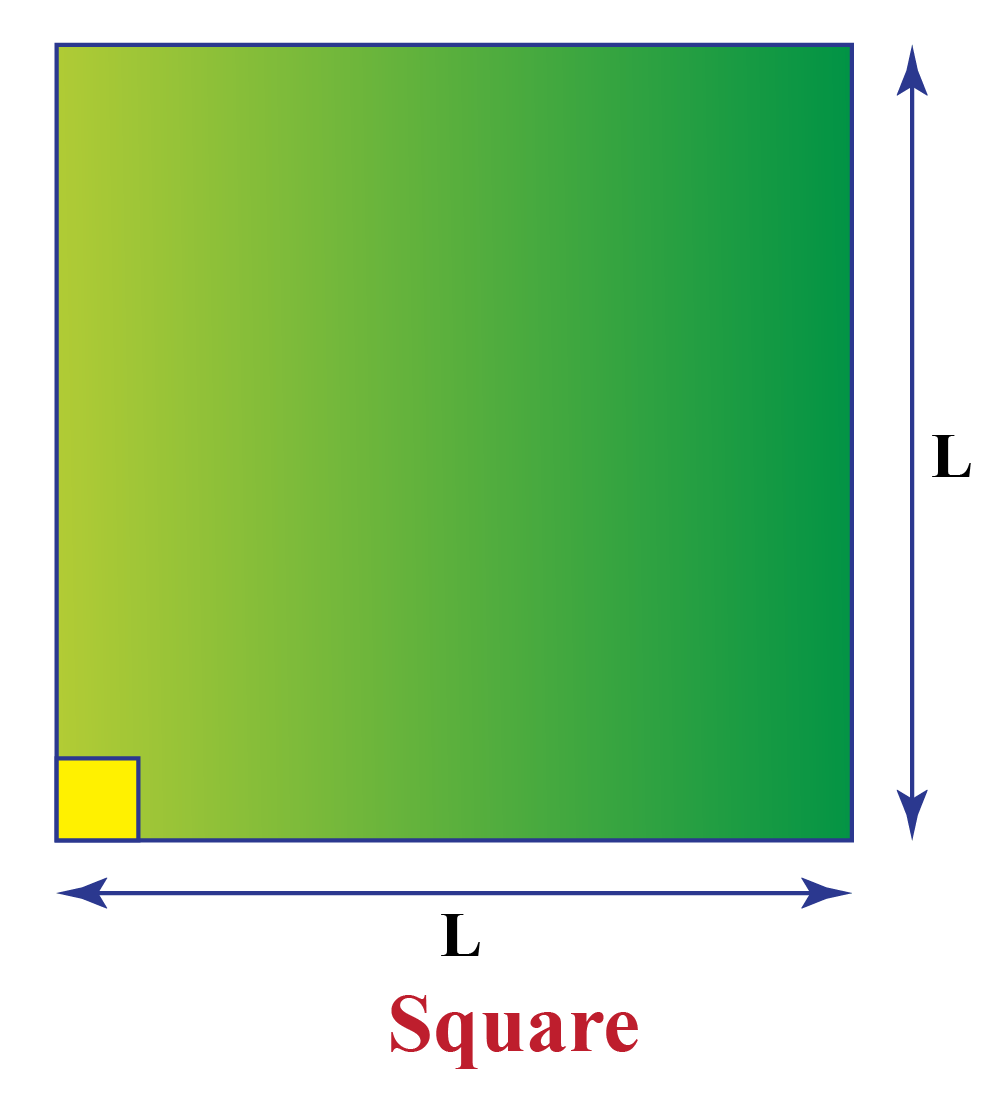 Square with side L