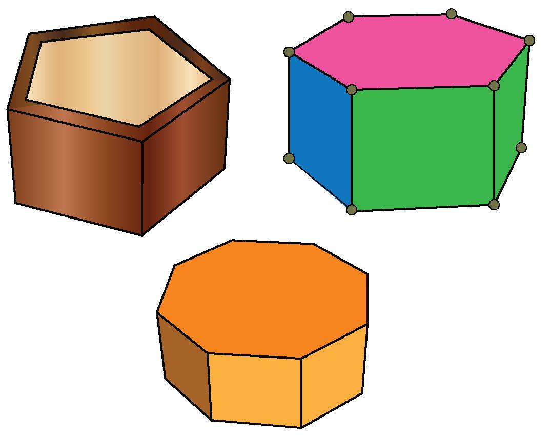 Examples of pentagonal prism