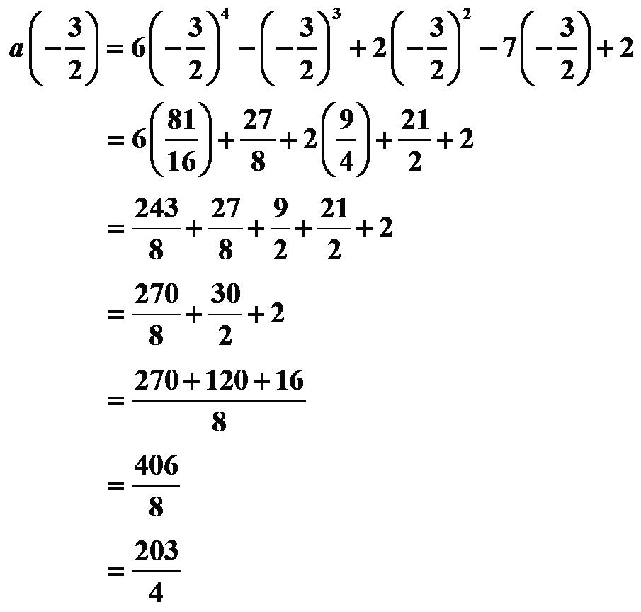 Calculating expression using remainder theorem
