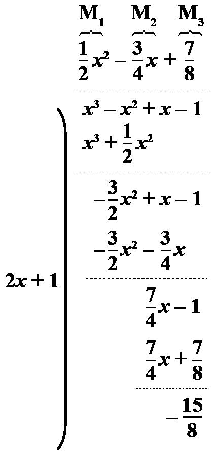 Dividing polynomials and using remainder theorem