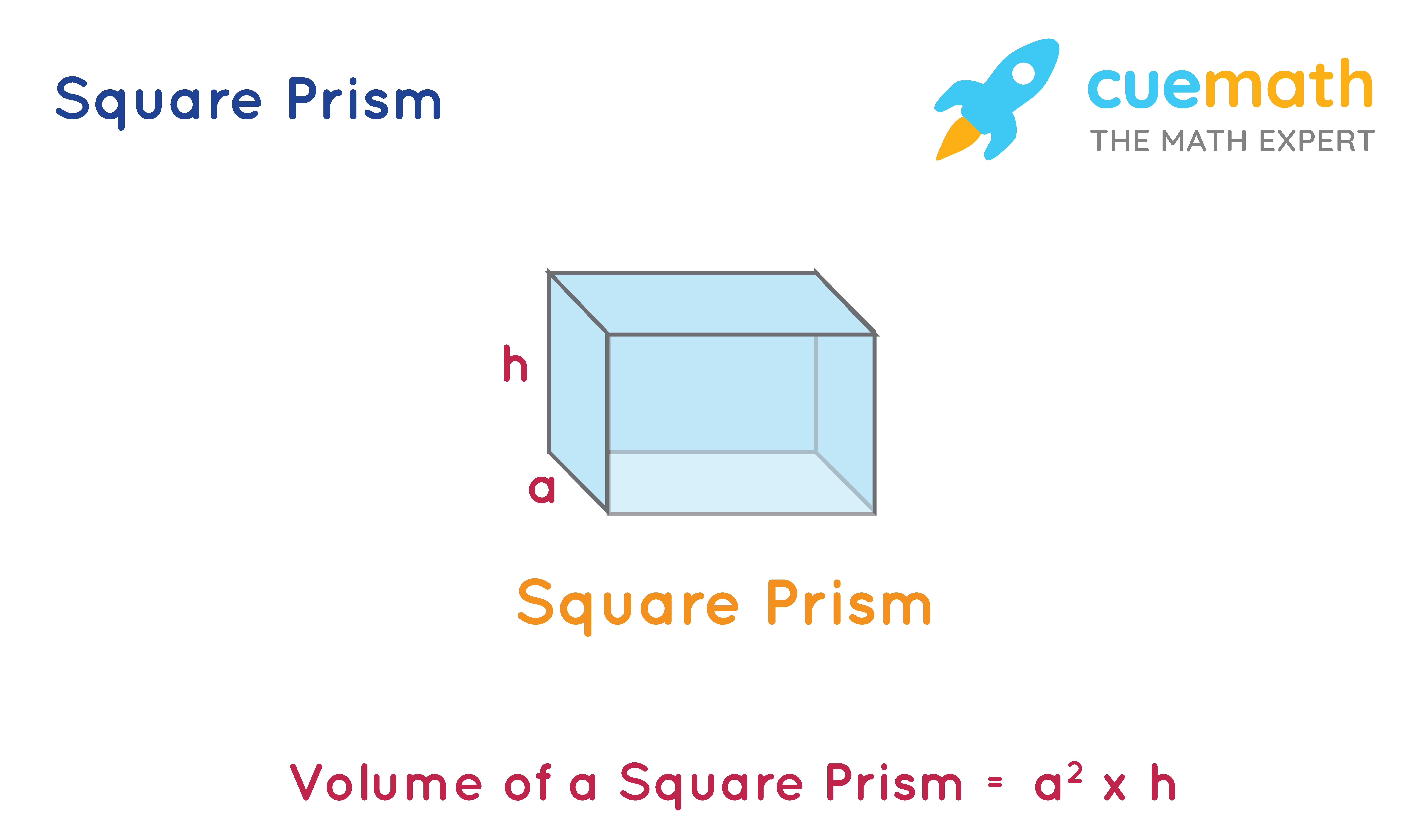Volume of square prism