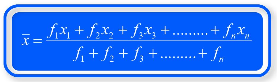 Mean formula