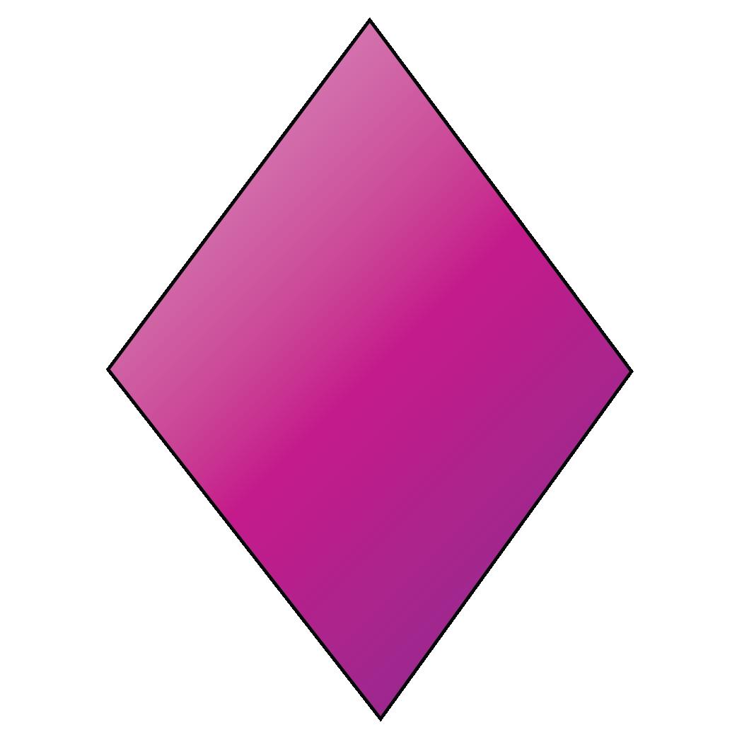 A kite is a 2D shape