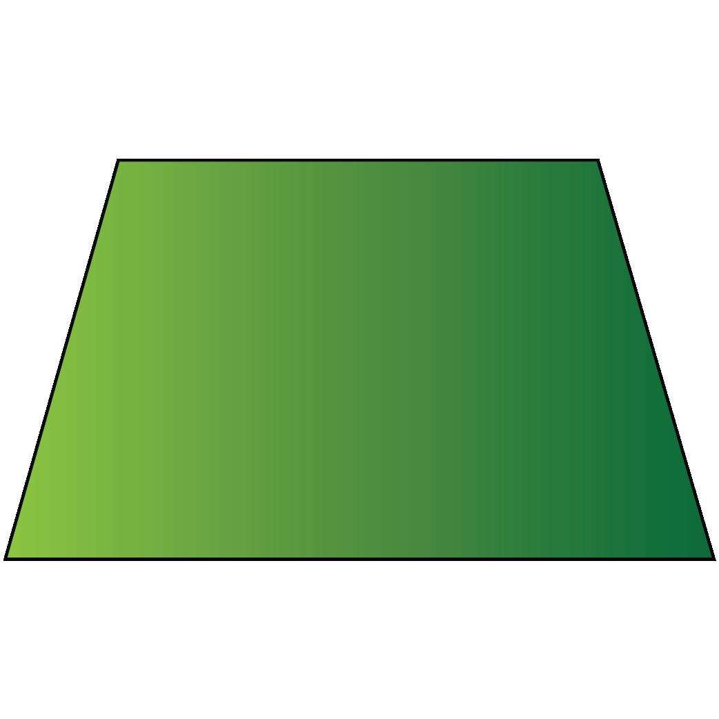 A trapezium  is a 2D shape