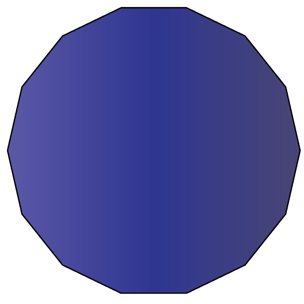 14 sided polygon