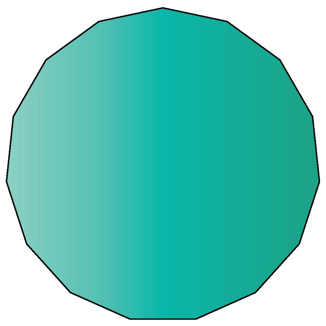 15 sided polygon
