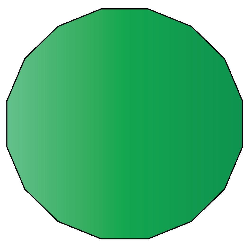 16 sided polygon
