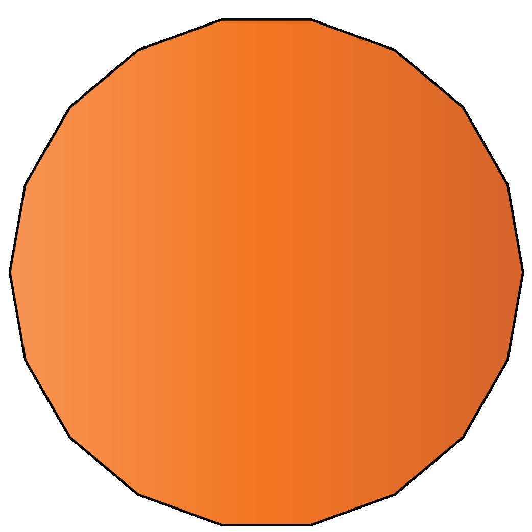 18 sided polygon