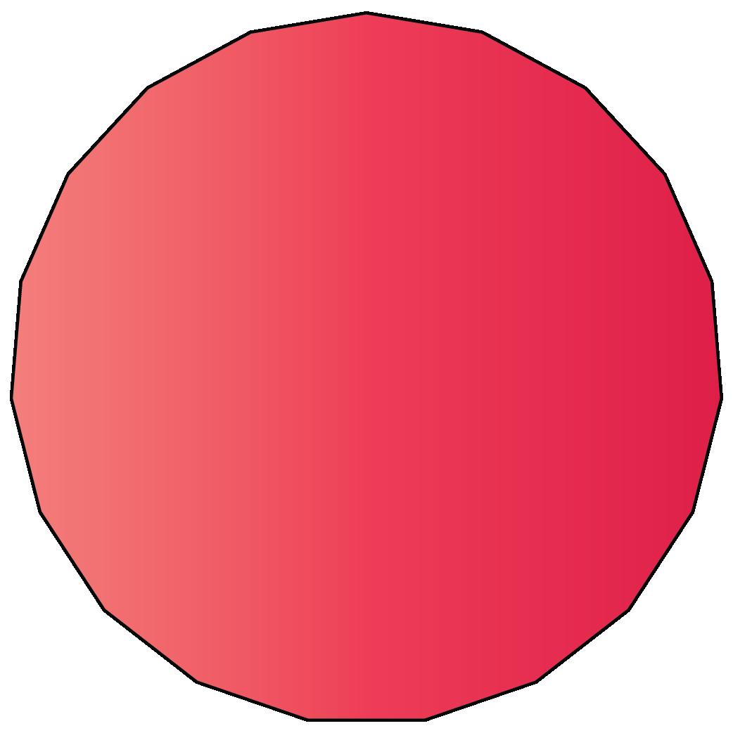 19 sided polygon