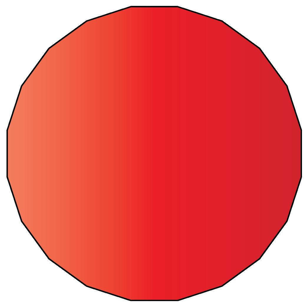 20 sided polygon