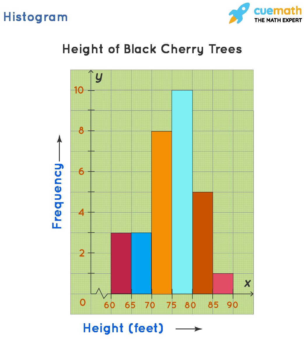 Histogram graph example